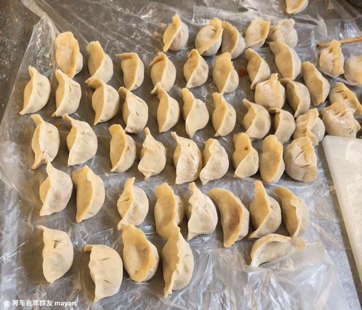 房车厨房饺子