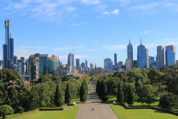 Green spaces, urban delights and road trip opportunities - Melbourne has it all.