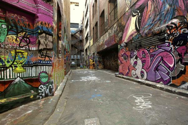 Make sure to catch some of Melbourne's world famous street art while you're in town.