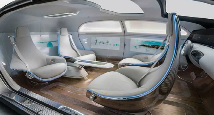 self-driving car Mercedes F 015