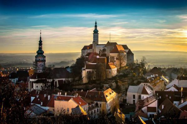 Mikulov is a town in the Moravia, South Moravian Region of the Czech Republic