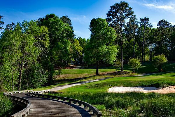 The Magnolia Golf Course looking lush on a beautiful day in Mobile, Alabama