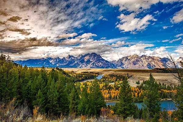 Grand Teton National Park, West Yellowstone region