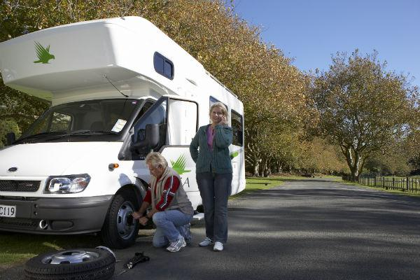When you damage a motorhome rental, you need to get in touch with your supplier straight away.