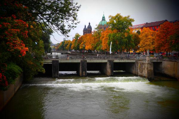 Munich in the autumn is truly something to behold.
