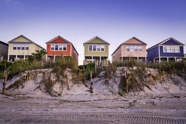 Whether you're staying in a beachfront cottage in Myrtle Beach or staying slightly further afield, this holiday spot has plenty of accommodation options.