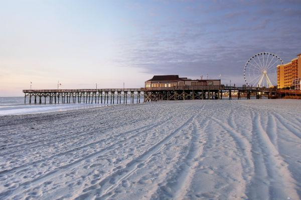 The West Coast doesn't have all the great beaches - Myrtle Beach is an idyllic South Carolina beach town.