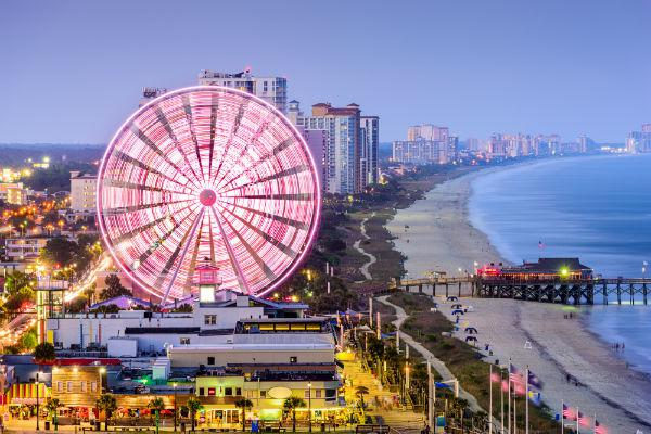 Myrtle Beach is far more than just a coastline - it's an entertainment destination.