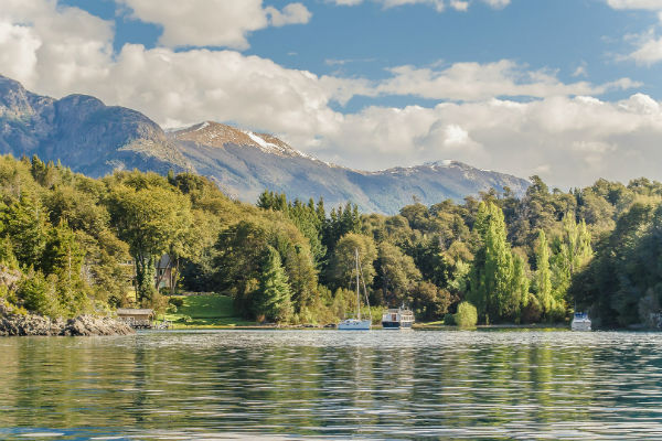 Lake Nahuel Huapi is just one of the scenic highlights on the Seven Lakes circuit.