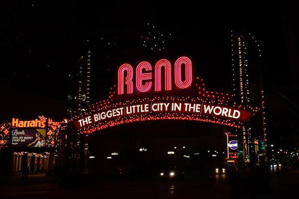 Reno: The Biggest Little City In The World (in lights)