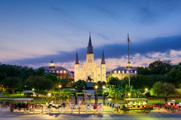New Orleans' Jackson Square is one of the city's most iconic spaces.