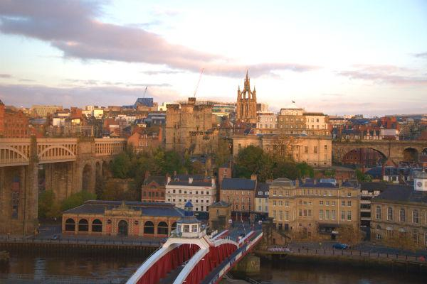 Newcastle upon Tyne still retains much of its old world charm.