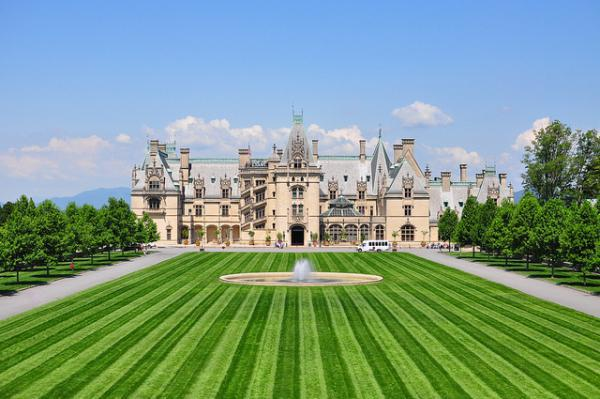 The Biltmore Estate is a popular tourist attraction near Asheville.
