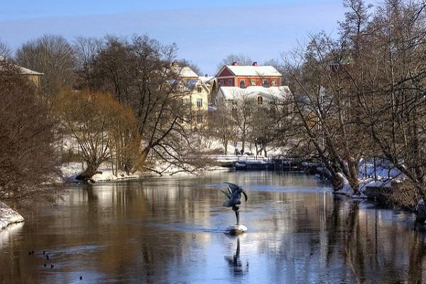 Nykoping is just as lovely in the wintertime