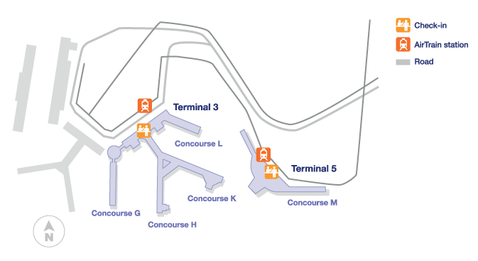 ohare airport terminals