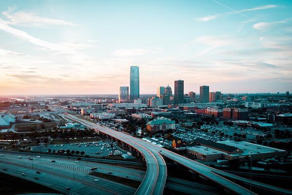 Skyline of Oklahoma City, Oklahoma