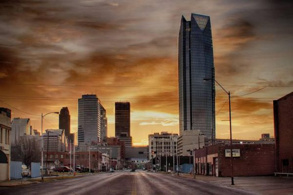Oklahoma City is the capital of the U.S. state of Oklahoma.