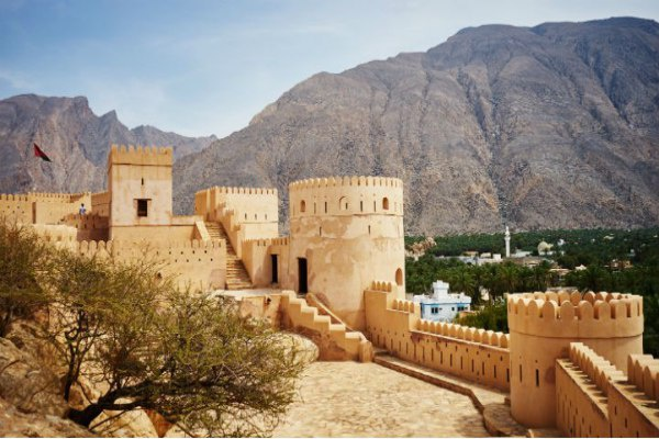 Make sure you stick to the road rules while exploring Oman's history.
