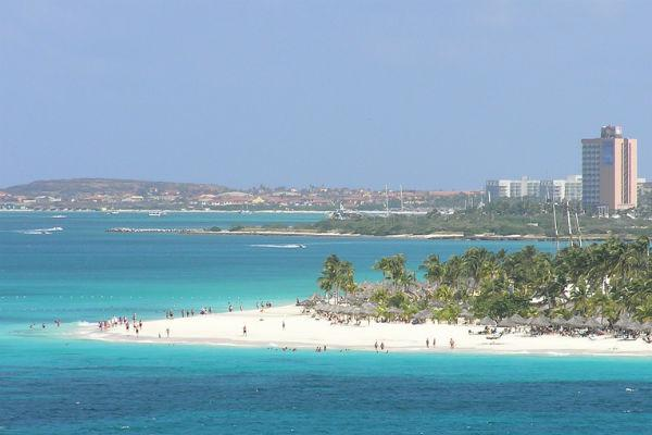 Booking a car rental in Oranjestad will give you the freedom to explore the Caribbean island of Caruba.