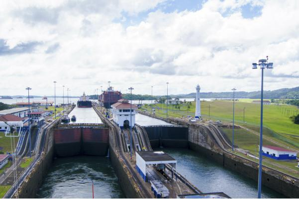Panama's famous canal is not far from Panama City