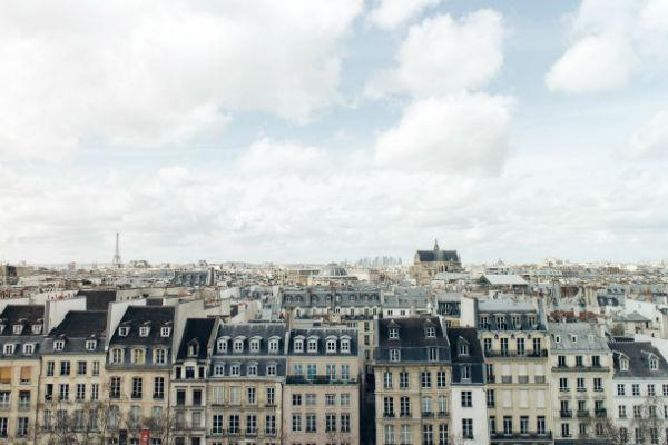 The distinctive multistory apartments of Paris lend the city much of its signature character.