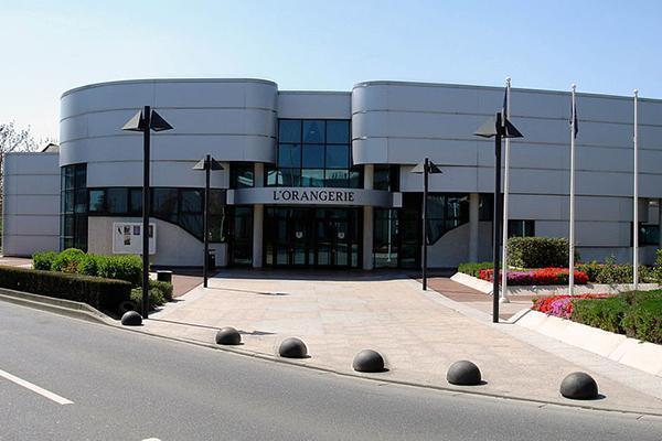 L'Orangerie (cultural centre) in Roissy-en-France (Val-d'Oise), France