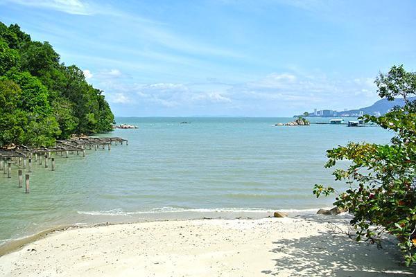 A small beach in Penang National Park, Penang, Malaysia
