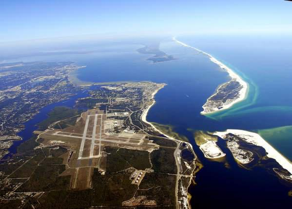 Pensacola from the air.