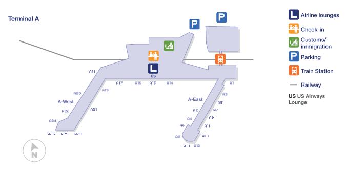 philadelphia airport terminal a