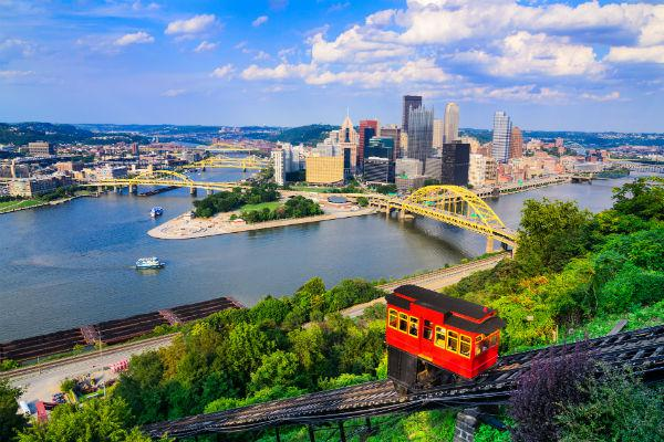 Consistently ranked among the most liveable cities in the United States, Pittsburgh is a delight to visit.