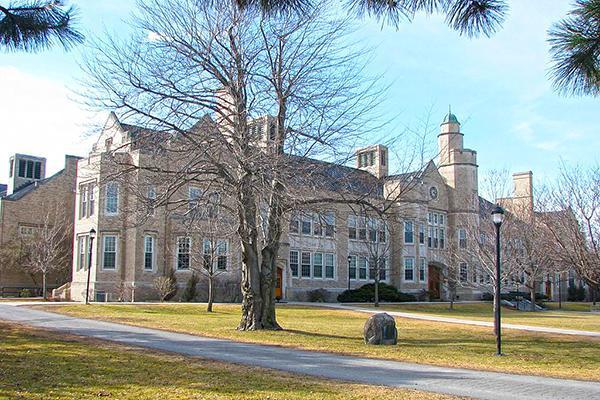 Autumn at Hawkins Hall, State University of New York at Plattsburgh