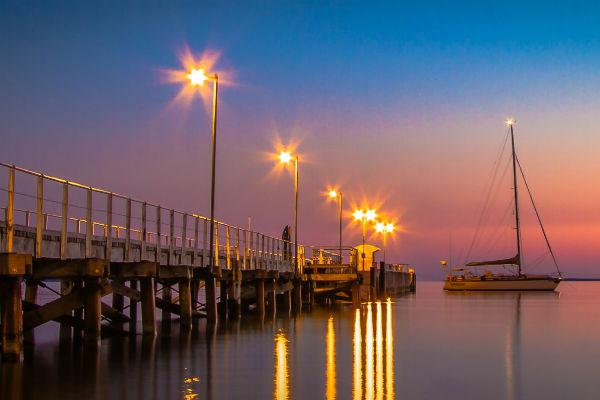 Taking a walk along the shore at dusk can reveal some of Port Lincoln's most charming sights.