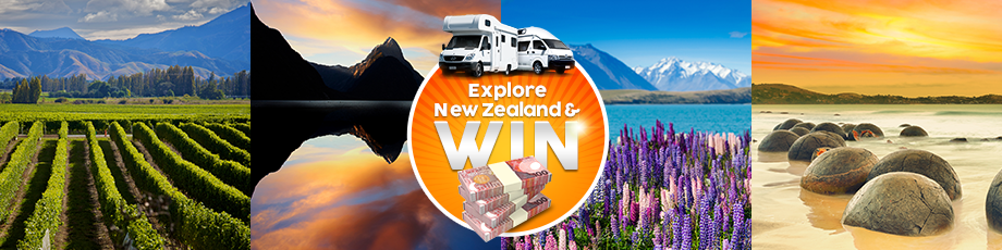Explore New Zealand and Win a Stash of Cash