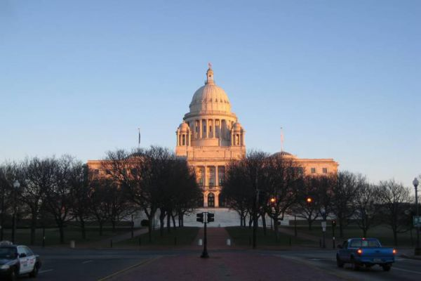 The Rhode Island State House is the capitol of the U.S. state of Rhode Island located in the state capital city of Providence.