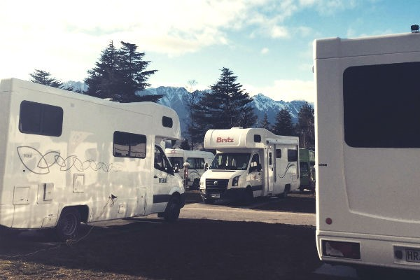 With a Queenstown campervan rental, there's no excuse for a view that's less than spectacular.