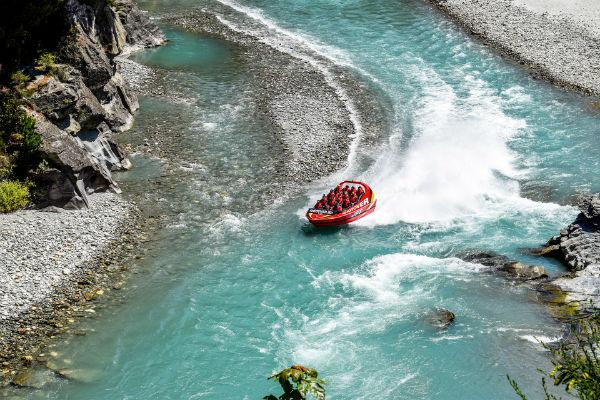 Indulge your inner thrillseeker with a hair raising ride down the Shotover River.