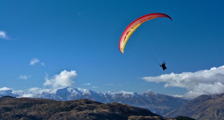 Queenstown paraglidding