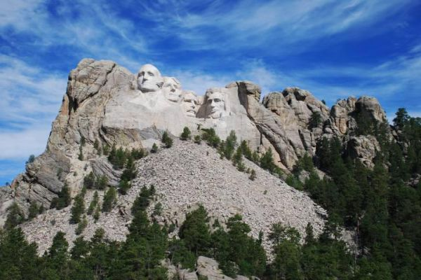 Rapid City in western South Dakota is known as a gateway to Mt. Rushmore.