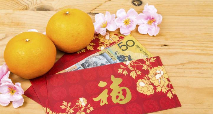 Nabdarin oranges Chinese New Year