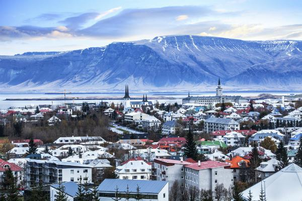 Reykjavik's setting is absolutely stunning