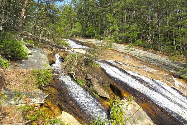 Mountainside stream, Roanoke Blue Ridge Mountains
