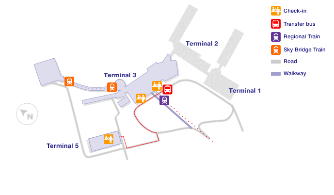 Rome Airport Terminal Maps
