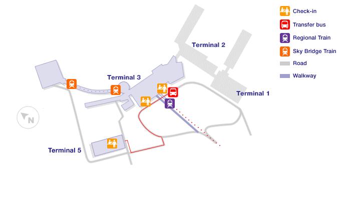 Rome Airport Terminal Maps
