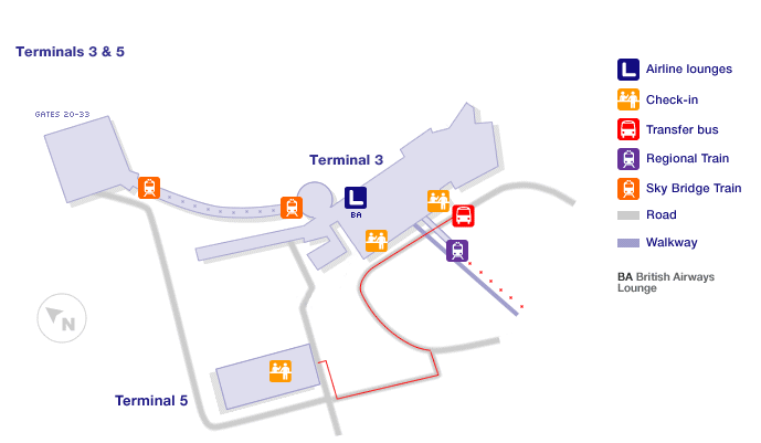 Rome Airport International Terminal Maps