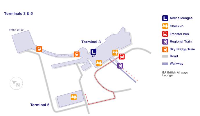 Rome Airport International Terminal Maps
