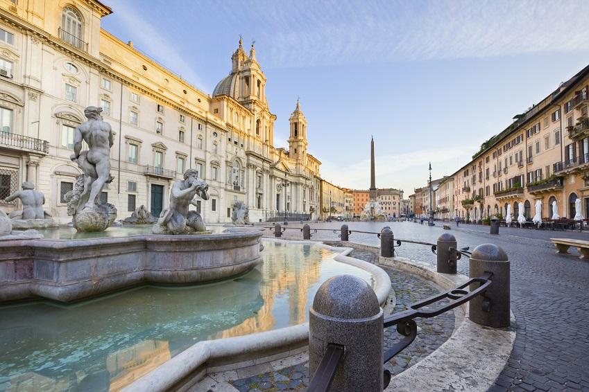 Rome Driving Distances