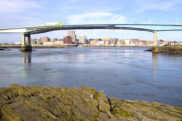 Saint John Harbour Bridge, Saint John, New Brunswick, Canada
