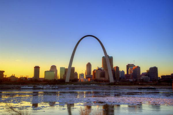 The St. Louis Gateway Arch is one of the world's most iconic pieces of architecture and is visible for miles around.