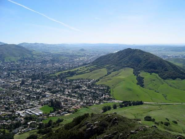 Madonna Mountain is the center of the City of San Luis Obispo.