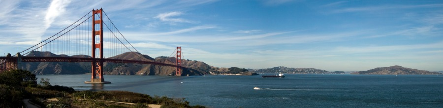 Drive your RV rental over Golden Gate bridge